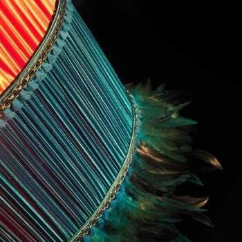 Lampenschirm im Detail