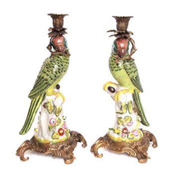 Papageienpaar mit ca. 36 cm Höhe