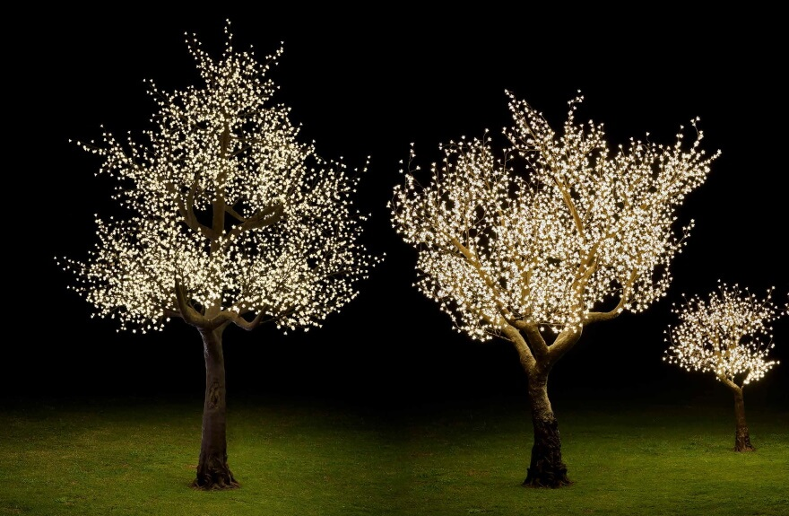 LED-Bäume
